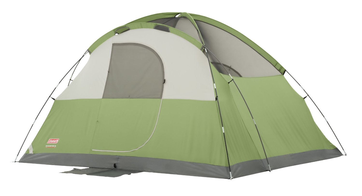 Coleman Evanston 6 Tent Without Rainfly
