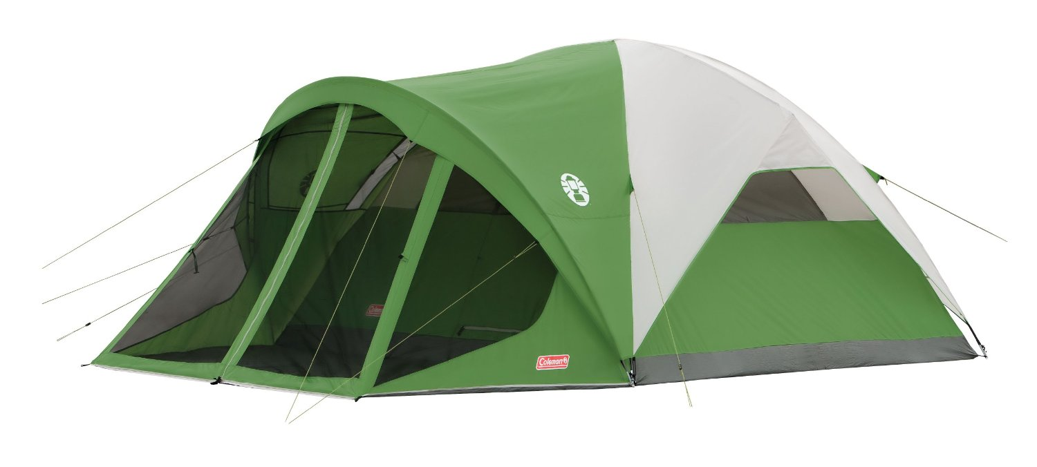 Coleman Evanston Screened 6 Tent Front View