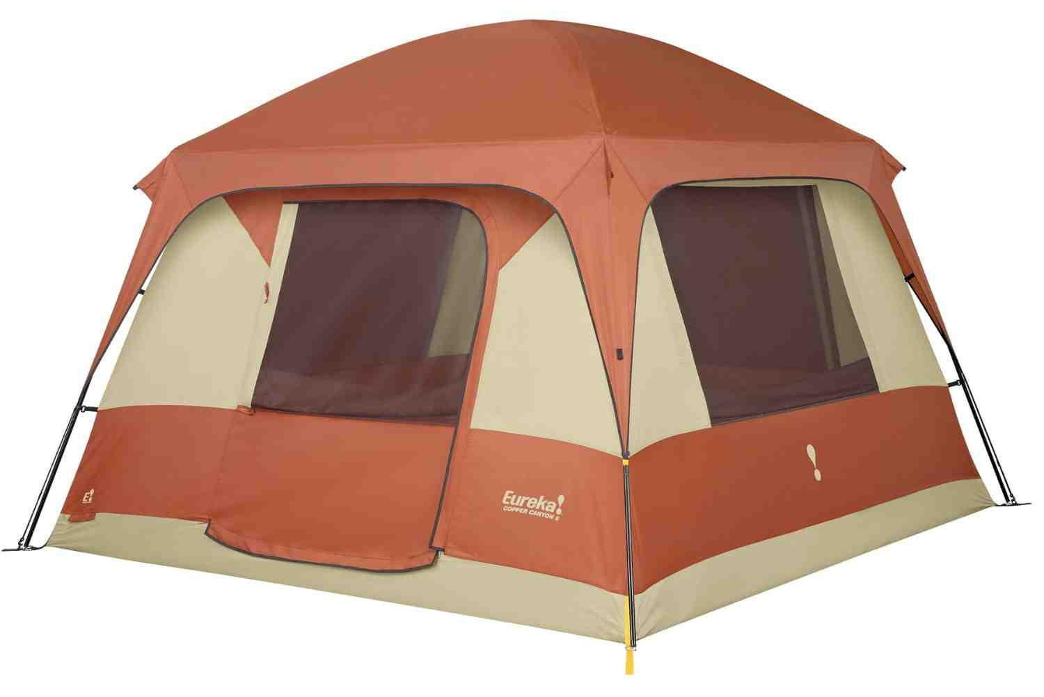 It offers the headroom and inner space of a wall tent with the ease of setup of a family tent.  sc 1 st  Tent C&ing at C&etent & Eureka Copper Canyon Tent u2022 Campetent