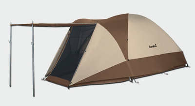 The panel has a window so that c&ers can look outside without opening the tent. & Eureka Grand Manan Tent u2022 Campetent