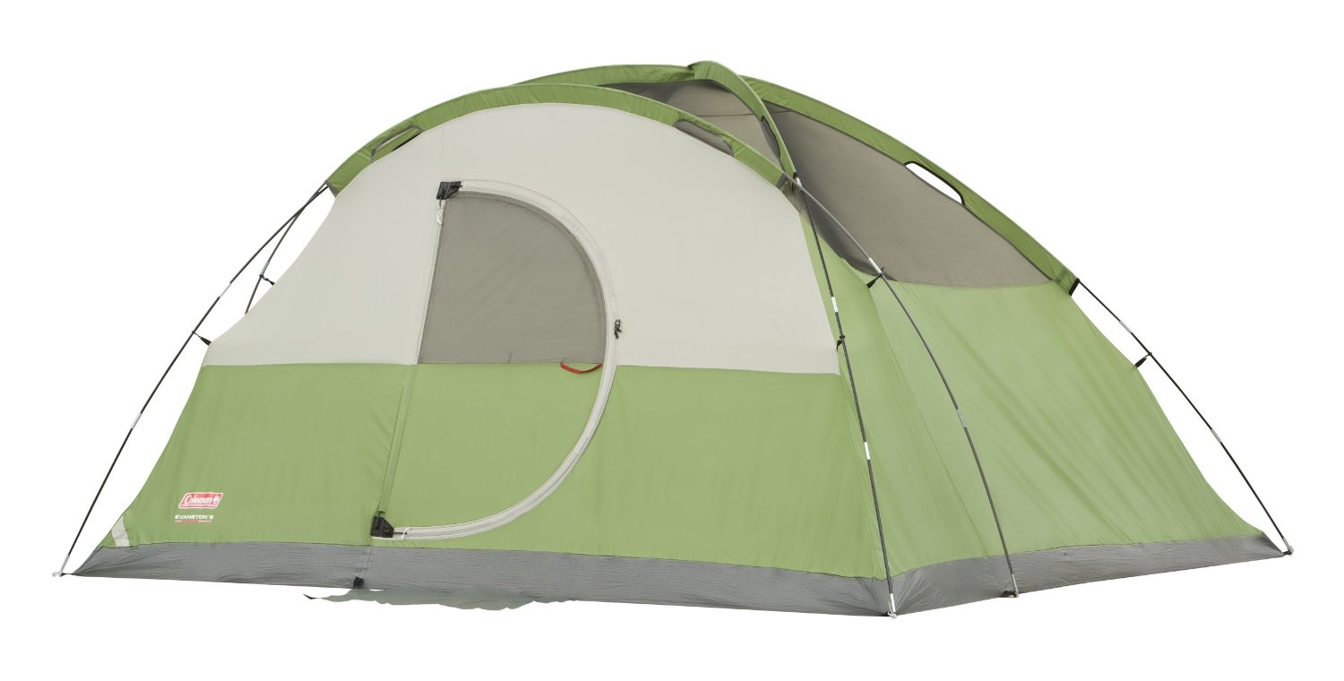 Coleman Evanston 8 Tent Without Rainfly