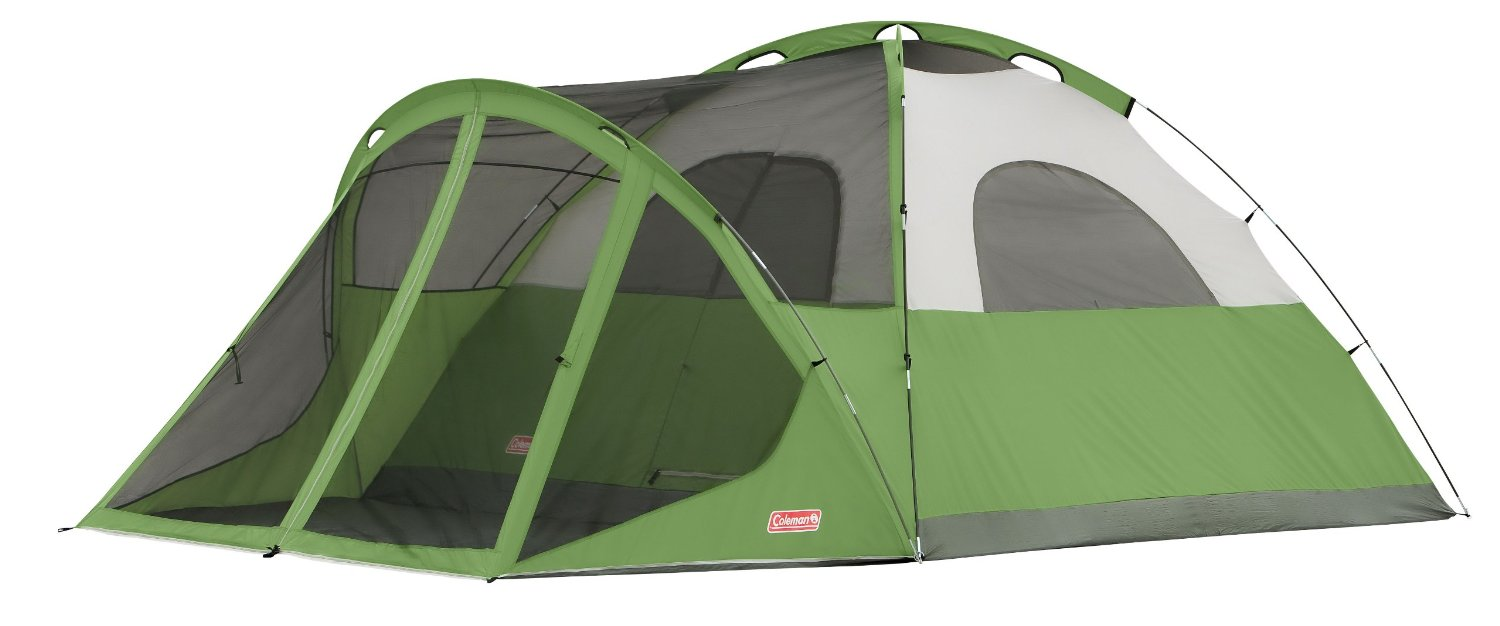 Coleman Evanston Screened 6 Tent Without Rainfly