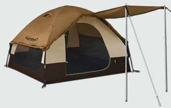 Surprisingly the long side windows do not have the standard storm flap with zipper closure. & Eureka Grand Manan Tent u2022 Campetent